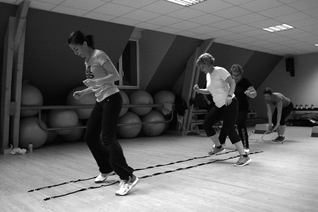 cours en groupe team training blois symbiose club de sport